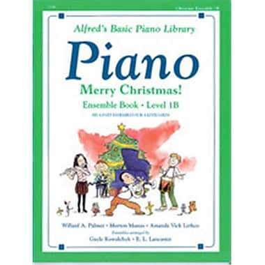 Alfred Basic Piano Course- Merry Christmas Ensemble- Book 1B - Music Book (ALFRD40774)