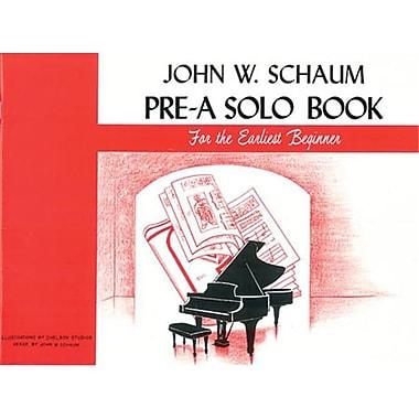 Alfred Pre-A Solo Book - Music Book (ALFRD41729)