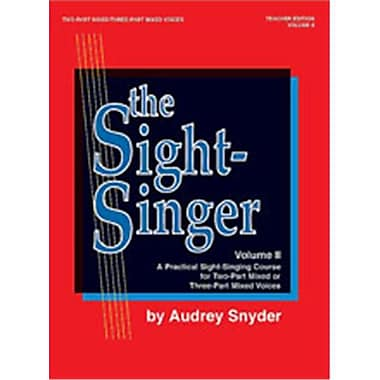 Alfred The Sight-Singer- Volume II for Two-Part Mixed-Three-Part Mixed Voices - Music Book (ALFRD46287)
