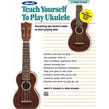 Alfred Teach Yourself to Play Ukulele- C-Tuning Edition - Music Book (ALFRD48894)