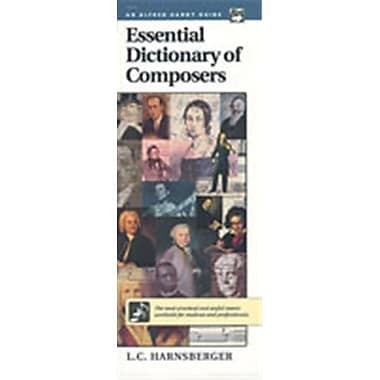 Alfred Essential Dictionary of Composers - Music Book (ALFRD48626)