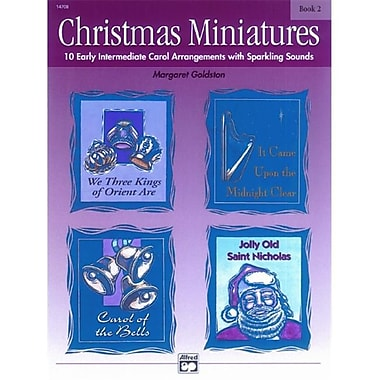 Alfred Christmas Miniatures- Book 2 - Music Book (ALFRD42077)
