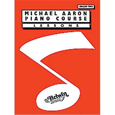 Alfred Michael Aaron Piano Course- Lessons- Grade 2 - Music Book (ALFRD40469)
