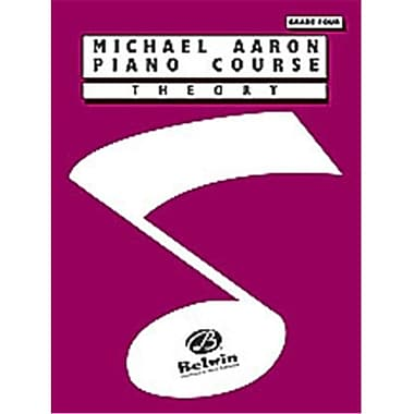 Alfred Michael Aaron Piano Course- Theory- Grade 4 - Music Book (ALFRD40480)