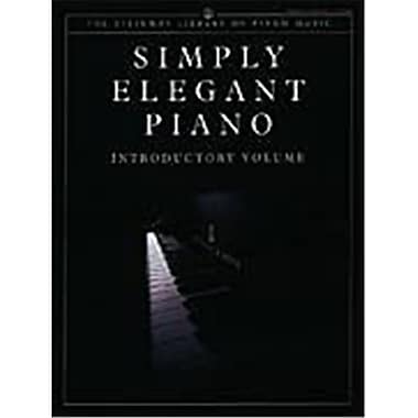 Alfred Simply Elegant Piano- Introductory Volume - Music Book (ALFRD43689)