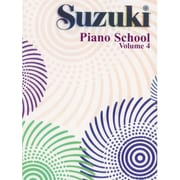 Alfred Suzuki Piano School Piano Book- Volume 4 - Music Book (ALFRD41889)