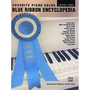 Alfred Blue Ribbon Encyclopedia- Level 1 - Music Book (ALFRD43250)
