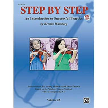 Alfred Step by Step 2A- An Introduction to Successful Practice for Violin - Music Book (ALFRD46639)
