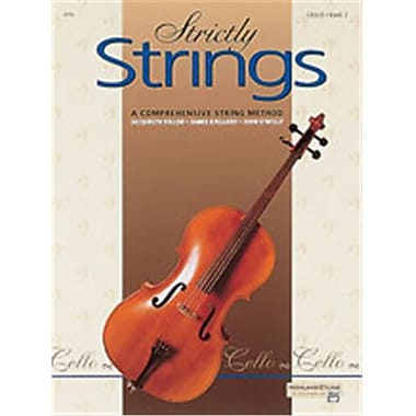 Alfred Strictly Strings- Book 2 - Music Book (ALFRD48205)