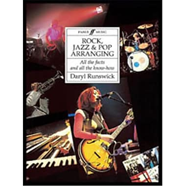 Alfred Rock- Jazz and Pop Arranging - Music Book (ALFRD48688)