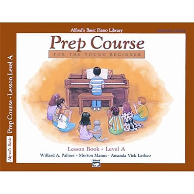 Alfred Basic Piano Prep Course- Universal Edition Lesson Book A - Music Book (ALFRD40873)