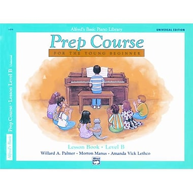 Alfred Basic Piano Prep Course- Universal Edition Lesson Book B - Music Book (ALFRD40874)
