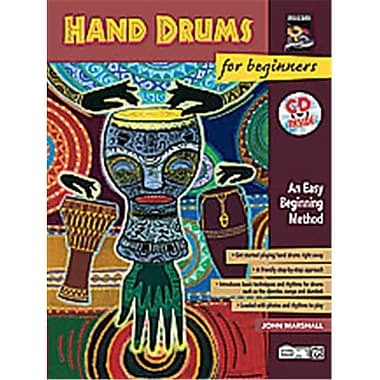 Alfred Hand Drums for Beginners - Music Book (ALFRD39957)