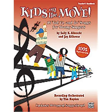 Alfred Kids on the Move - Music Book (ALFRD35400)