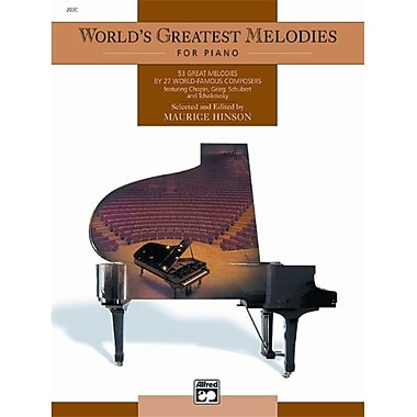 Alfred World s Greatest Piano Melodies - Music Book (ALFRD42275)