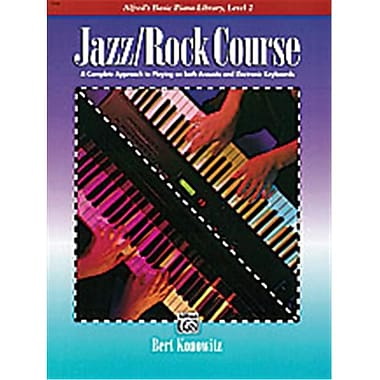 Alfred Basic Jazz-Rock Course- Lesson Book- Level 2 - Music Book (ALFRD40619)