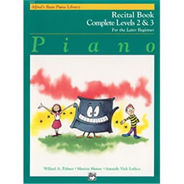 Alfred Basic Piano Course- Recital Book Complete 2 & 3 - Music Book (ALFRD40800)