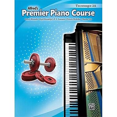 Alfred Premier Piano Course- Technique Book 2A - Music Book (ALFRD40946)
