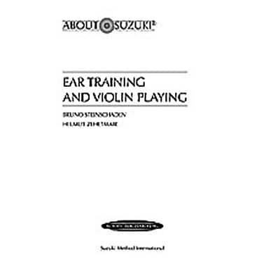Alfred Ear Training and Violin Playing - Music Book (ALFRD48794)