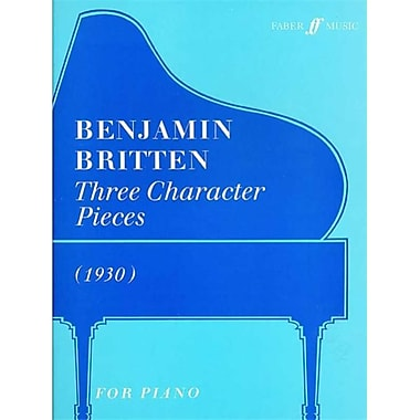 Alfred Three Character Pieces- 1930 - Music Book (ALFRD43584)