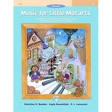 Alfred Music for Little Mozarts- Halloween Fun Book 3 - Music Book (ALFRD41518)