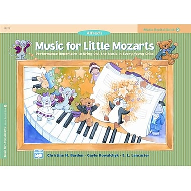 Alfred Music for Little Mozarts- Music Recital Book 2 - Music Book (ALFRD41507)