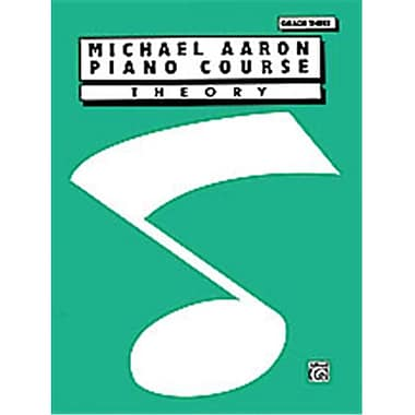Alfred Michael Aaron Piano Course- Theory- Grade 3 - Music Book (ALFRD40476)