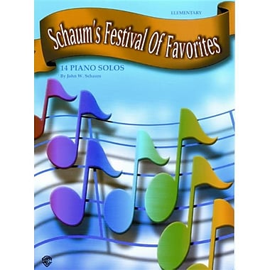 Alfred Schaum s Festival of Favorites - Music Book (ALFRD43258)