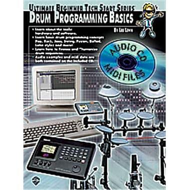 Alfred Ultimate Beginner Tech Start Series- Drum Programming Basics - Music Book (ALFRD48863)