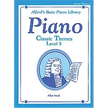 Alfred Basic Piano Course- Classic Themes Book 5 - Music Book (ALFRD40757)