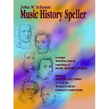 Alfred Music History Speller - Music Book (ALFRD41745)