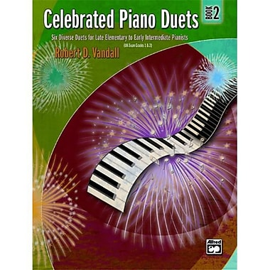 Alfred Celebrated Piano Duets- Book 2 - Music Book (ALFRD43803)