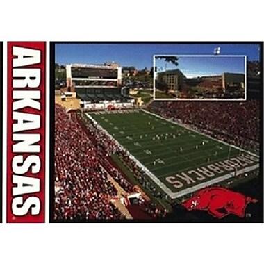 DDI University of Arkansas Postcard 12169 Razorback Stadium (DLR350285)