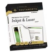 Southworth Company PAPER,LASER,8.5X11,24#,WH (AZERTY21769)
