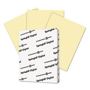 Springhill 8.5 x 11 Digital Index Color Card Stock, 90 lbs. - Canary (AZTY14829)