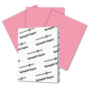 Springhill 8.5 x 11 Digital Index Color Card Stock; 110 lbs. - Cherry (AZTY14844)