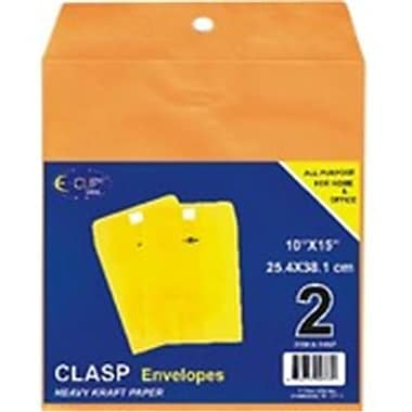 DDI Clasp Envelopes - 10'' x 15'' - 2 count Pack of 48 (DLR324537)