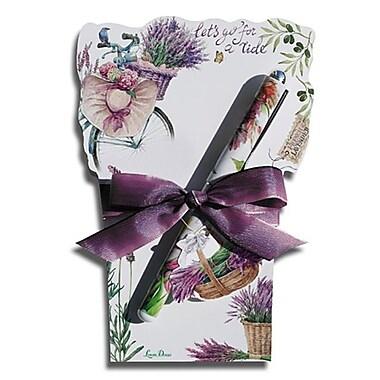 Lissom Design Diecut Notepad - Lavender Allure (LSD404)