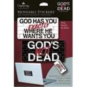 Dayspring Cards Stickers - Moveable - Gods Not Dead (ANCRD62074)