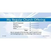 Americanchurch Offering Env My Regular Church Offering Stock Set (ANCRD29224)