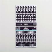 Dayspring Cards 68357 218 Piece Bible Journaling - Homespun Numbers Stickers - Black Eyed Pea (ANCRD82387)
