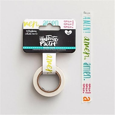 Dayspring Cards 68191 Bible Journaling - Amen Washi Tape, 30 ft. x .5 in. Roll (ANCRD82347)