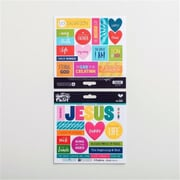 Dayspring Cards 68305 31 Piece Bible Journaling - Cardstock Stickers - His Name (ANCRD82361)