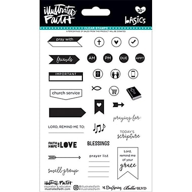Dayspring Cards Bible Journaling-Clear Stamps-Faith Planner (ANCRD2178054)