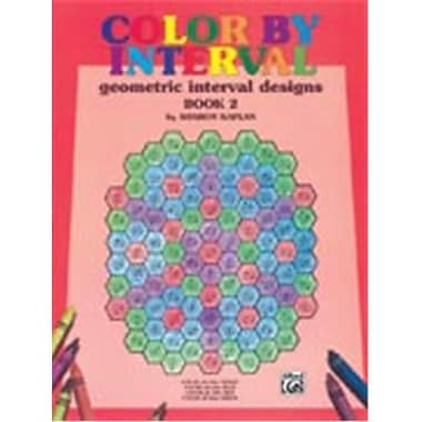 Alfred Color by Interval- Book 2 - Music Book (ALFRD45664)