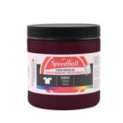 Speedball Art 8 oz. Fabric Screen Printing Ink Burgundy (ALV33429)