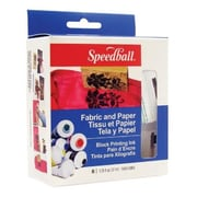 Speedball Art 75cc Fabric & Paper Block Printing Ink 6-Color Set (ALV34048)