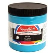 Speedball Art 8 oz. Acrylic Screen Printing Ink Dark Blue (ALV30418)