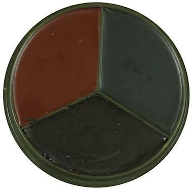 Fox Outdoor 3 Color Face Paint Compact - Woodland Camo (FXOD1792)