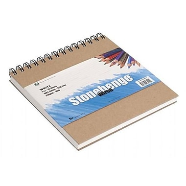 Stonehenge 5 in. x 7 in. 250Gsm Versatile Artist Journal - White (ALV14487)